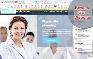 sitebuilder in 3 stappen uw eigen website
