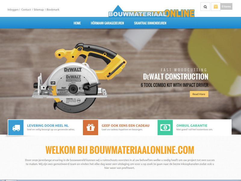 bouwmateriaal online